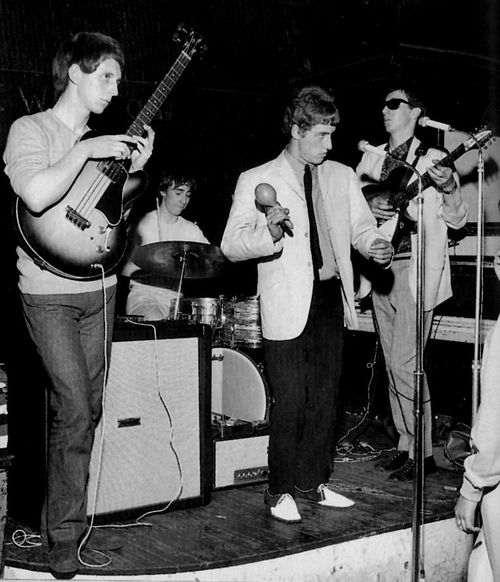 Pete Townsend in The High Numbers wearing Monkey Boots