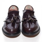 mod shoes loake brighton oxblood tassel loafer 02
