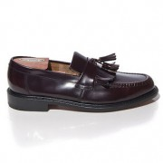 mod shoes loake brighton oxblood tassel loafer 03