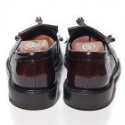 mod shoes loake brighton oxblood tassel loafer 05