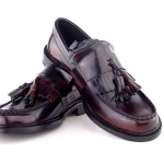mod shoes womens tassel loafers oxblood ska nothern soul shoes 01