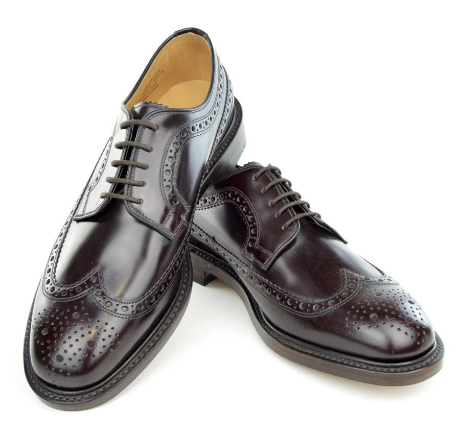 Loake Royal Oxblood Brogues – Mod Shoes