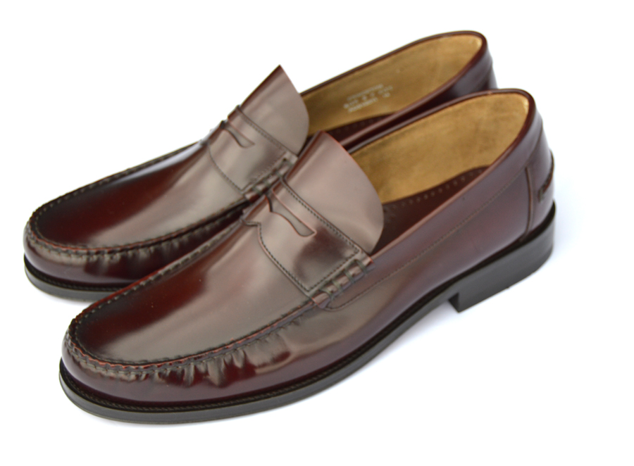 Oxblood-Penny-Loafers-Loake-Princetons-01 – Mod Shoes