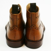 Tan Brogue Boots loake burford 04