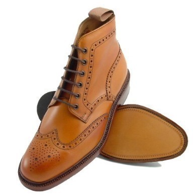 mod shoes brogue boots LOAKE-BURFORD-1007031
