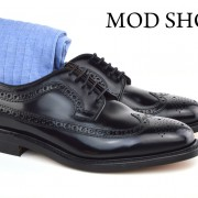 18 Mod Shoes Loake Royals with Light Blue Socks (2)