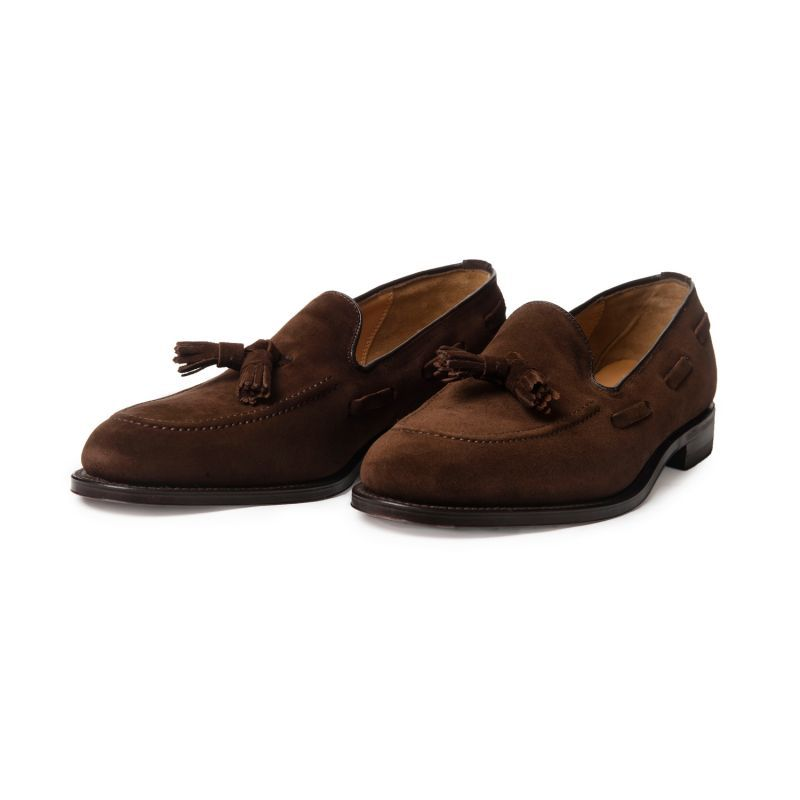 loake lincoln suede loafers – Mod Shoes