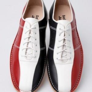 mod shoe two colour bowling shoes