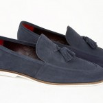 mod shoes navy suede delicious junction detour tassel loafers 02