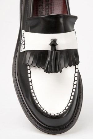 Black and White Two Tone Shoes