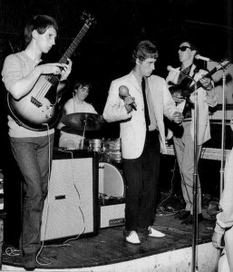 The High Numbers starting to look cool. Notice the Two Tone shoes Weller loved, and Townsend in Monkey Boots