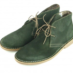 mod shoes olive green mod desert boots 01