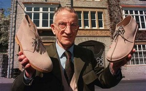 Nathan Clarke the designer of the Original Clarkes Desert Boot