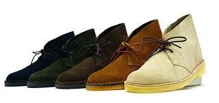 17 mod shoes nice colour desert boots in a row