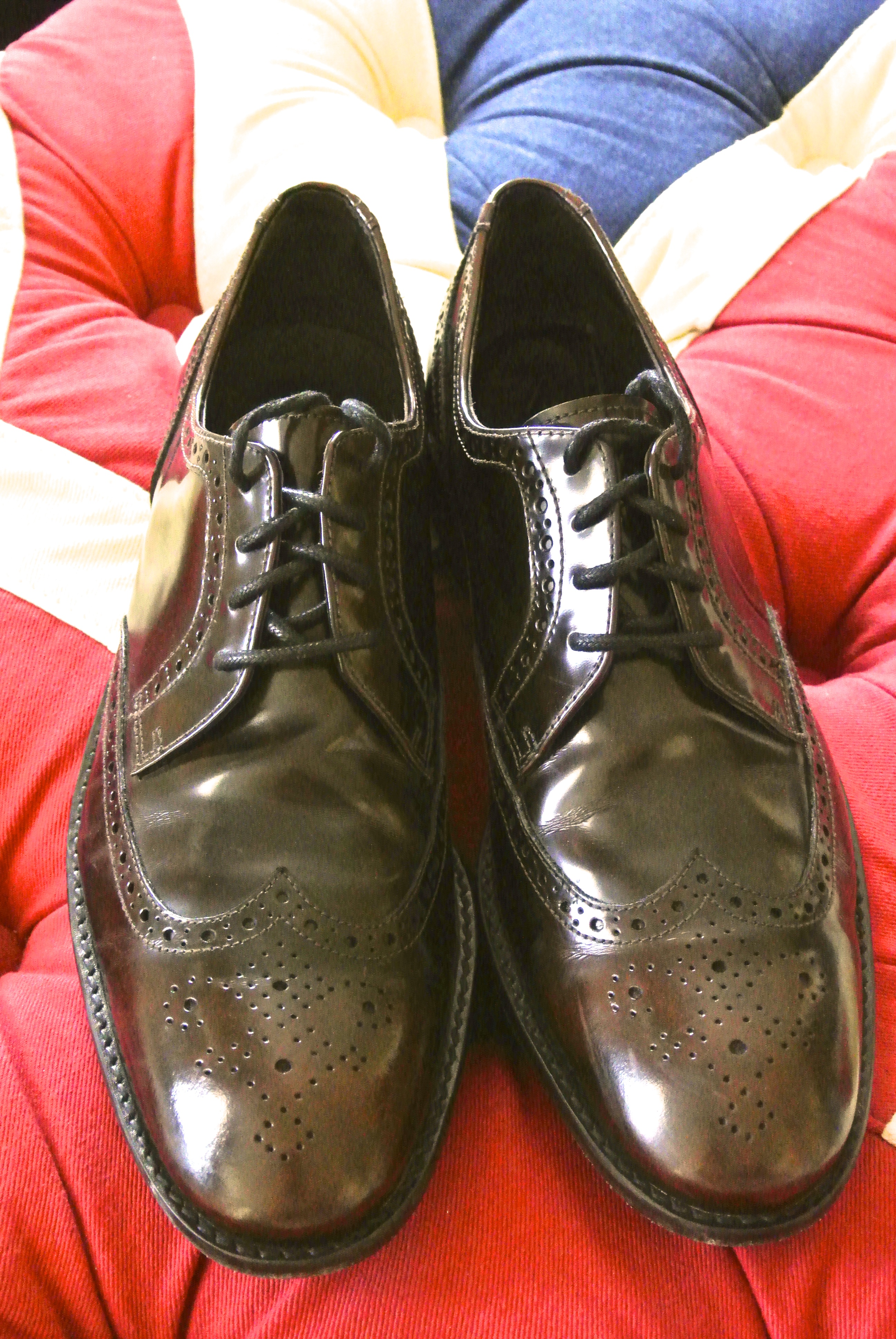 John Varvatos Hallowell Wing Tips