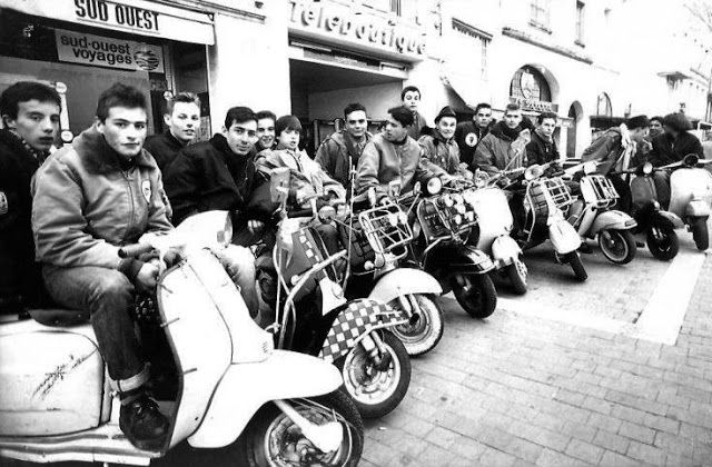 19 mod shoes french mods and scooter boys