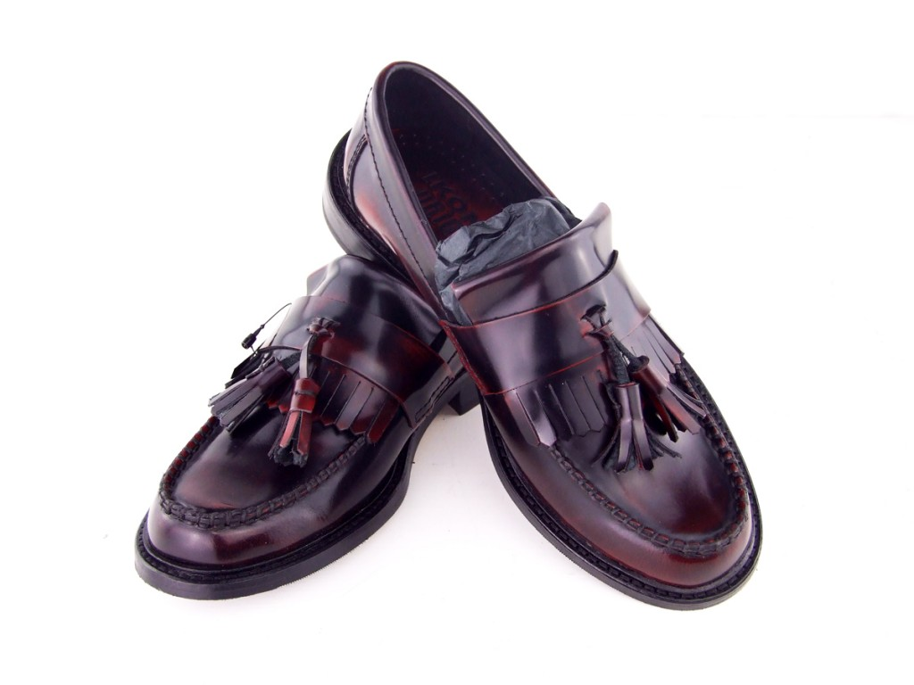 20 mod shoes womens tassel loafers oxblood ska nothern soul shoes 02