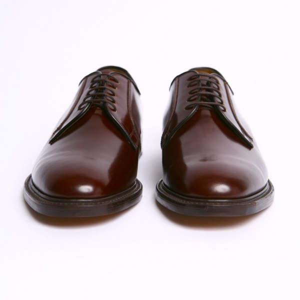 mod shoes loake 771 plain oxblood made in england shoes 02