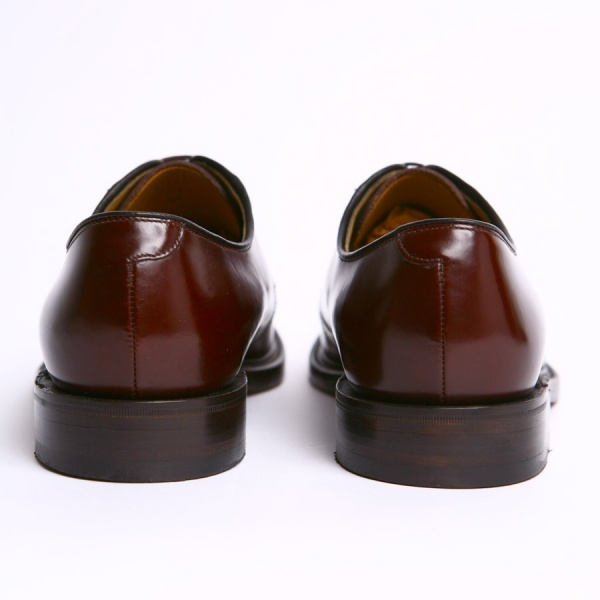 mod shoes loake 771 plain oxblood made in england shoes 05