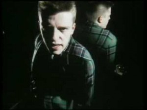 mod shoes suggs in chequered jacket