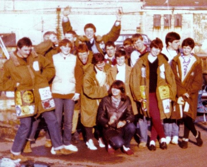 08 mod shoes 1980 at old Portsmouth mods