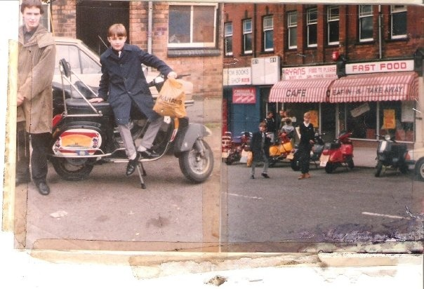 13 mod shoes 1980s Birmingham Mods. A Danny Turner photo