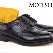 22 Mod Shoes Loake Royals with Mustard Socks