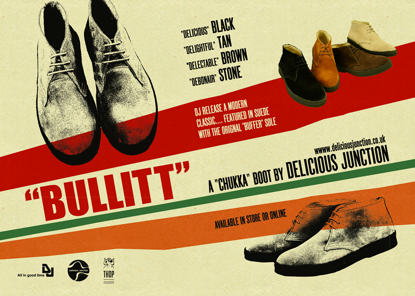 mod shoes bullitt advert