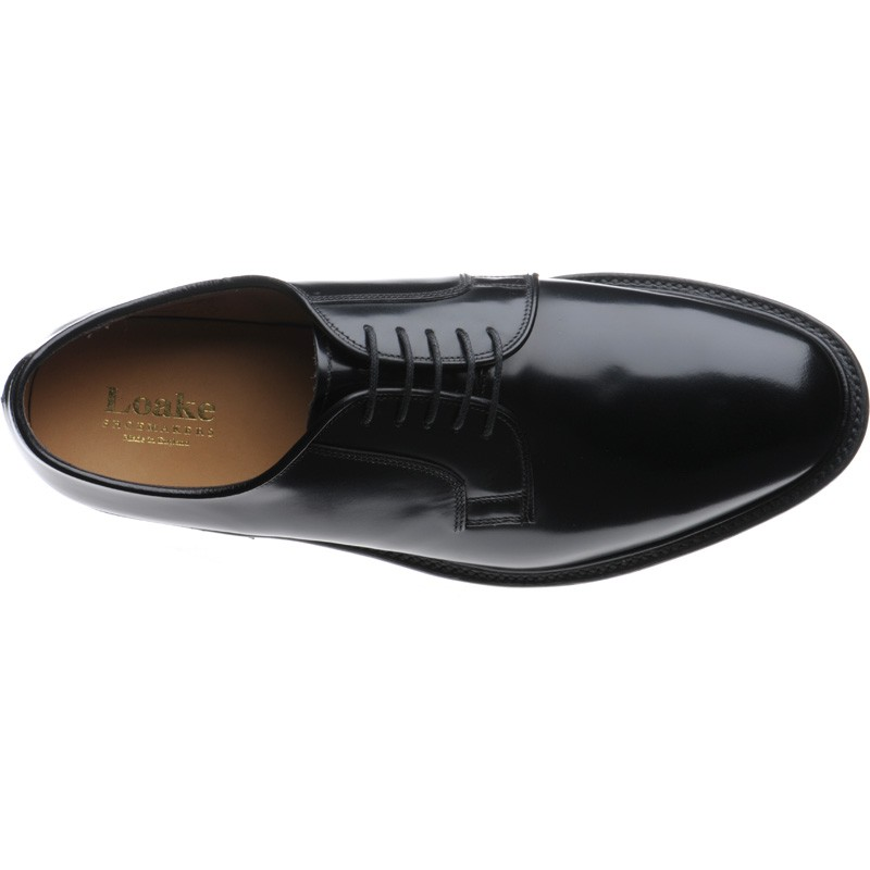 mod shoes Loake 771-Black Polished 04