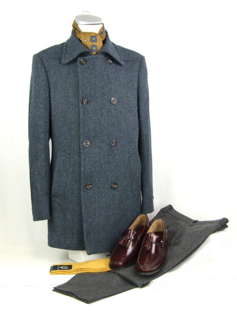 mod shoes loake geogretowns oxblood with gibson clothes