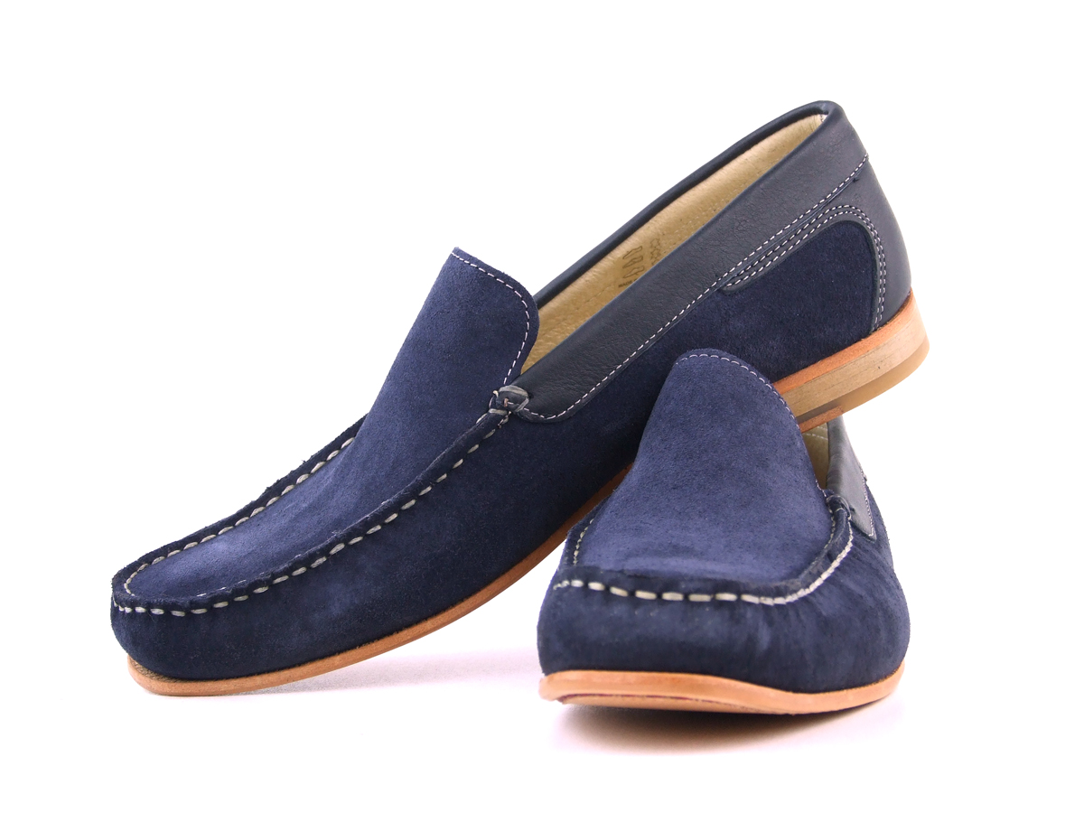 Blue Loafers For Men Images Gucci Photo