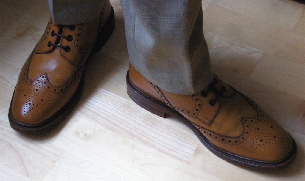 Loake brogue boots