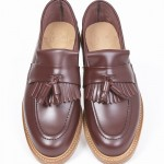 Oxblood Tassel Loafers leather sole UK english KINGSTON-BORDO-001