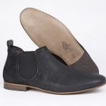 mod shoes mod chelsea boots KINGS-ROAD-BLK-002