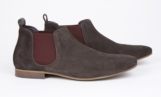 mod shoes mod chelsea boots KINGS-ROAD-BRN-001