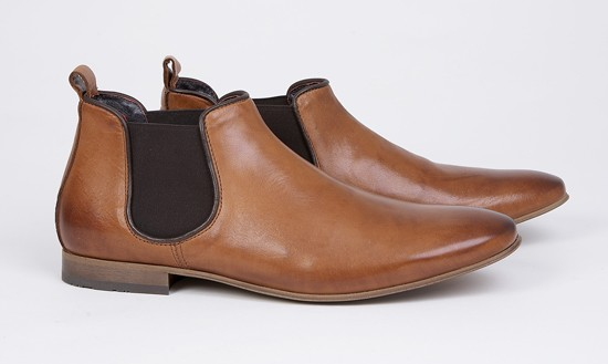 mod shoes mod chelsea boots KINGS-ROAD-TAN-001