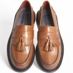 mod shoes tassel loafers RUDE-BOY-TAN-MENS-001