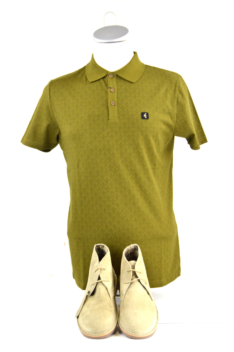 04 mod shoes desert boots and gabicci polo top