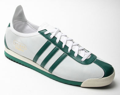 mod shoes adidas italias green and white