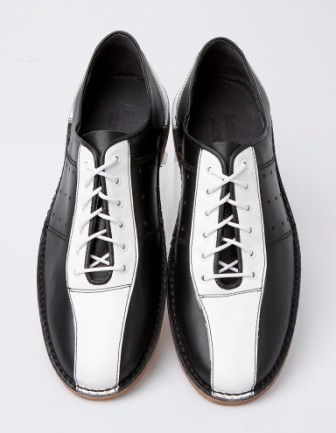 mod shoes bowling shoes black and white 04 – Mod Shoes