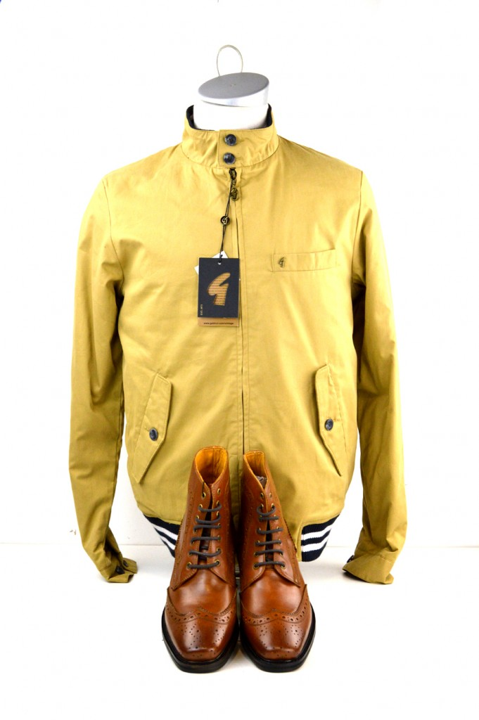 11 mod shoes gabicci wind sheilder jacket and tan brogue boots