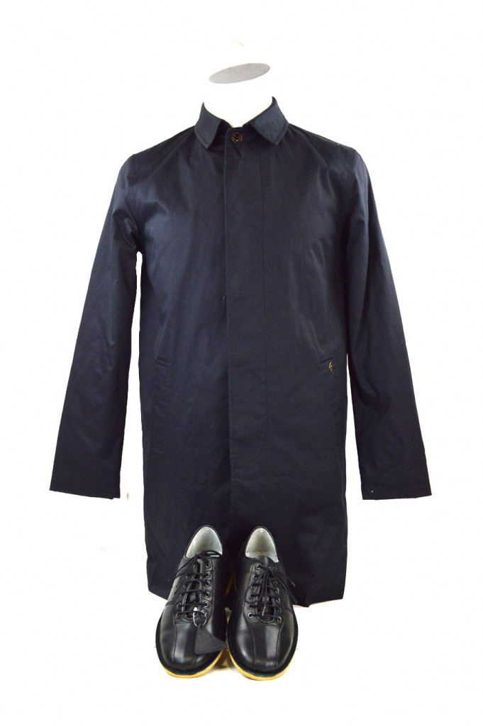 15 mod shoes blue long winter jacket with black bowling shoes