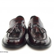 mod shoes basker weave tassel loafers pxblood burgundy allnighters 06