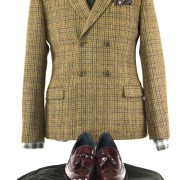 mod-shoes-beckleys-with-double-breasted-jacket-from-Gibson-Clothing