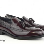 mod shoes brogue tassel loafers oxblood burgundy beckley 03