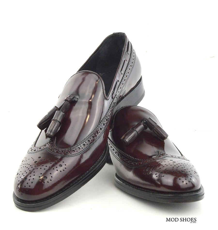 Mens Tassel Brogue Shoes
