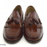 mod shoes brown duke tassel loafer 01