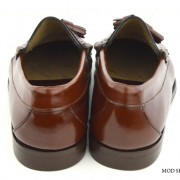 mod shoes brown duke tassel loafer 02