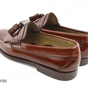 mod shoes brown duke tassel loafer 04
