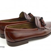 mod shoes brown duke tassel loafer 05